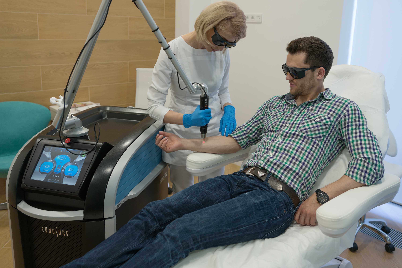 Удаление татуировок в клинике DELETE