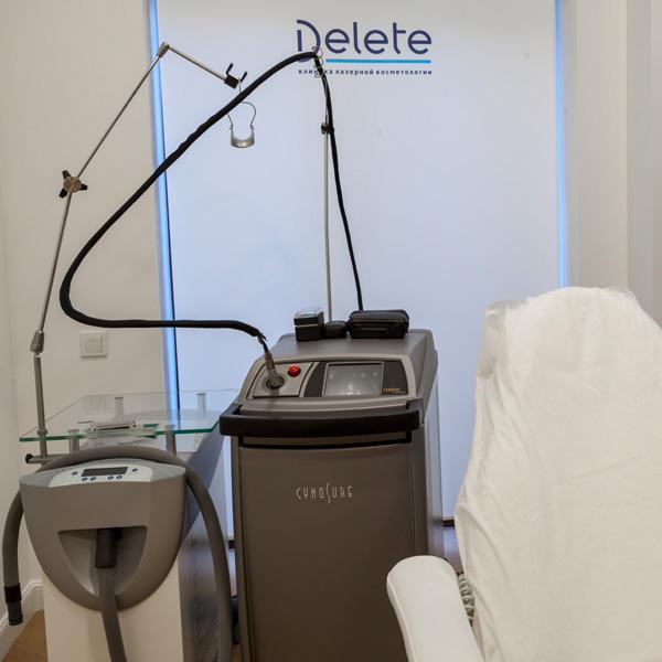 Лазеры клиники DELETE